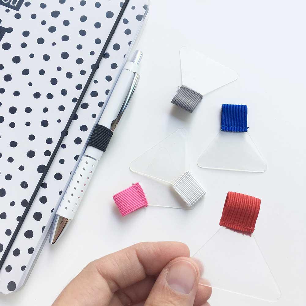 Die Selbstklebende Stiftschlaufe Fur Deinen Kalender In 6 Farben